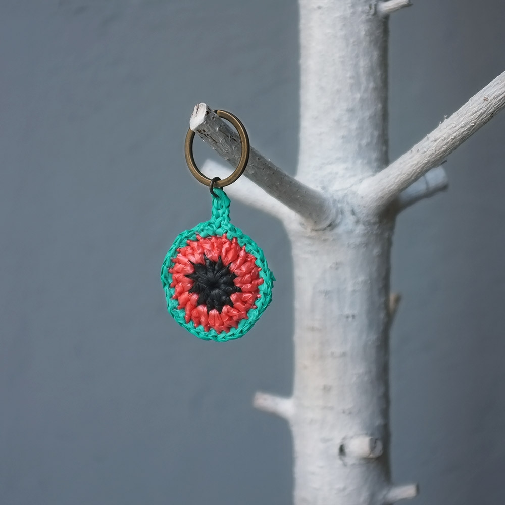 Use the Kalokairi Keyring for your house or car keys or as a charm on your everyday backpack, handbag or purse!