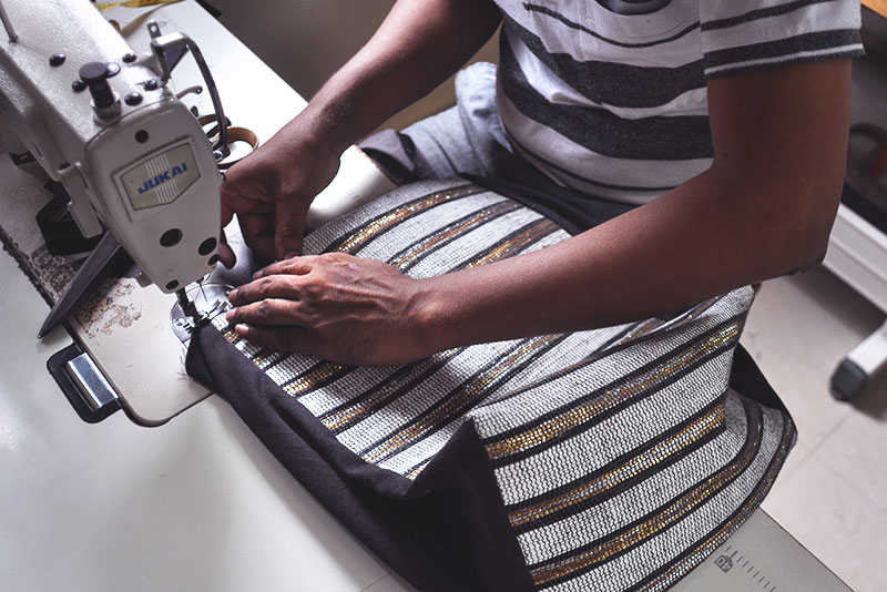 Making our bags ethical meant being creative at every step of the process. Read about the transformations we made to make our bags as ethical as possible!